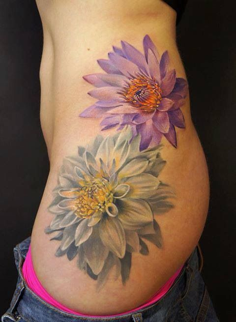 25 Best 3D Flower Tattoos Ideas On Pinterest 3D Rose Ideas And Designs