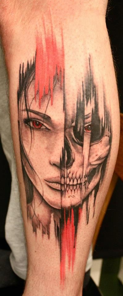 A Different Two Face Than Usual Tattoo Design Ideas Ideas And Designs