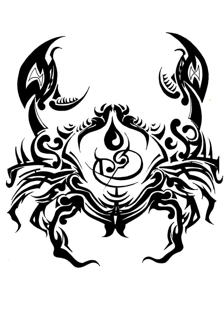 25 Best Ideas About Zodiac Cancer Tattoos On Pinterest Ideas And Designs