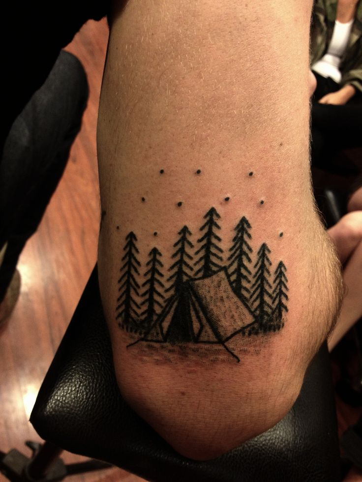 Best 25 Camping Tattoo Ideas On Pinterest Simple Cute Ideas And Designs