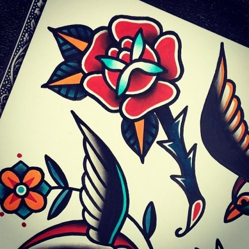 25 Best Ideas About Traditional Flower Tattoos On Ideas And Designs