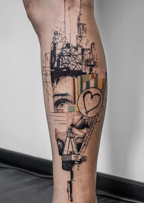 113 Best Images About Leg Tattoos On Pinterest Calf Ideas And Designs