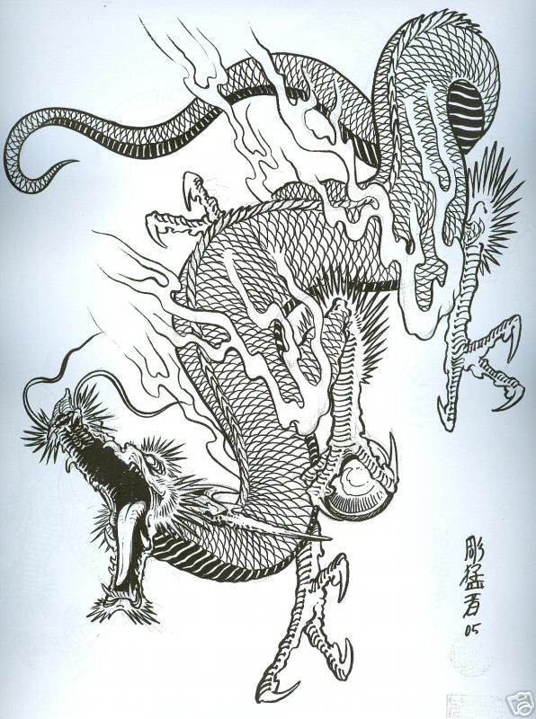 Dragons By Horimouja Japanese Tattoo Dragones Orientales Ideas And Designs