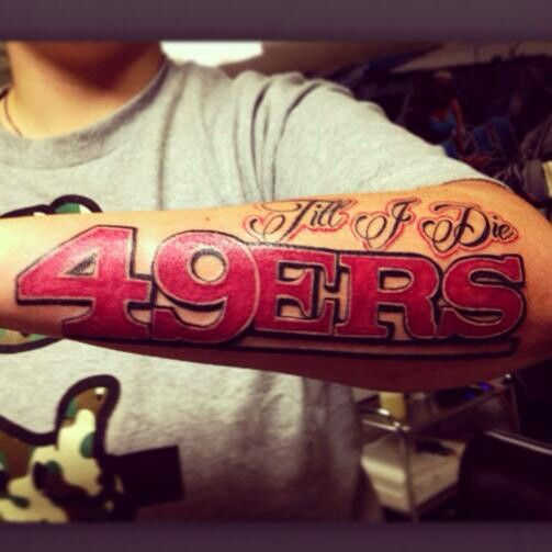 44 Best Images About San Francisco 49Ers Tattoos On Ideas And Designs