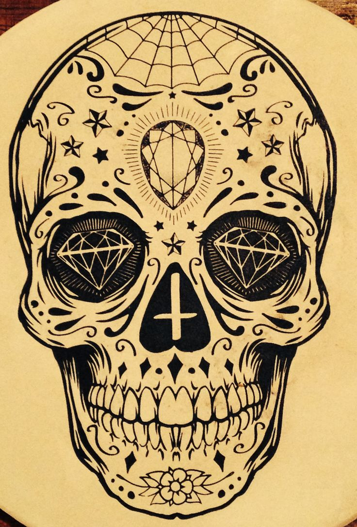 108 Best Images About Sugar Skull Tattoos On Pinterest Ideas And Designs