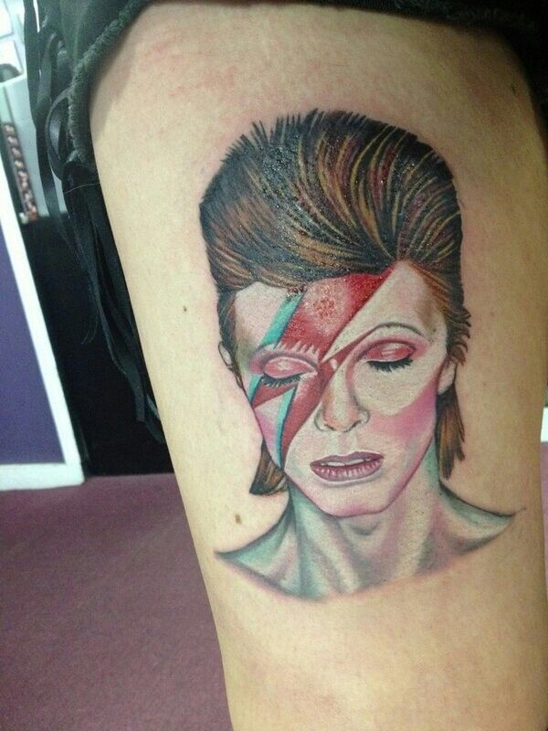 David Bowie Tattoo Tattoos Pinterest Bowie Tattoo Ideas And Designs