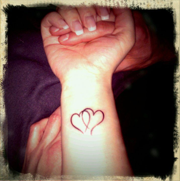 Tattoo Intertwined Hearts Design One Of The Hearts Ideas And Designs
