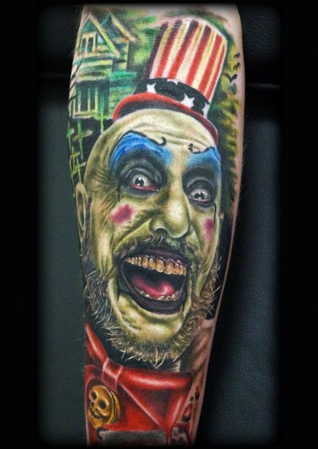 17 Best Images About Captain Spaulding Tattoos On Ideas And Designs