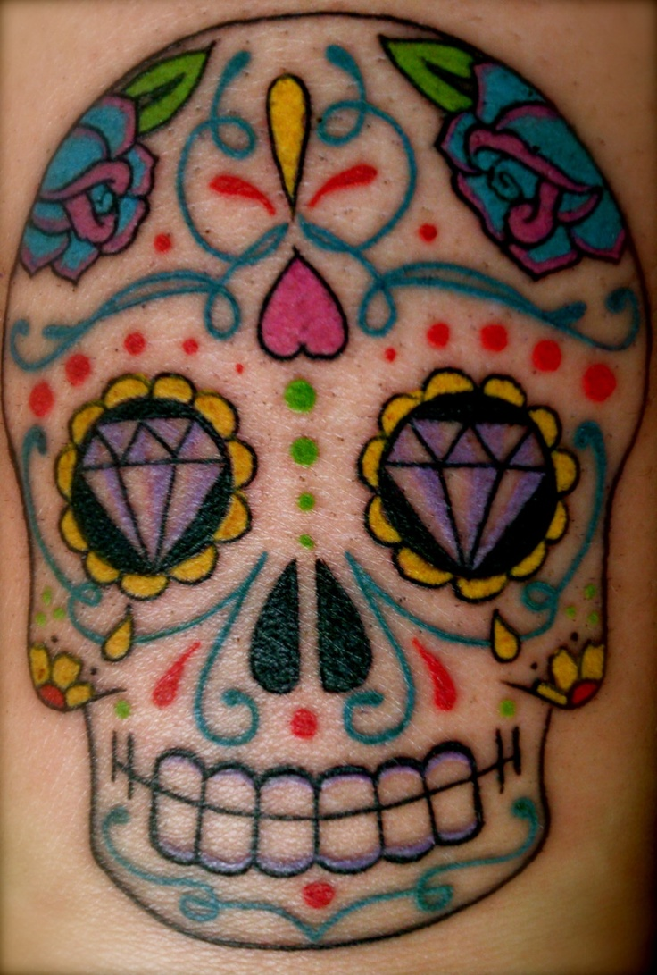 17 Best Images About Sugar Skulls On Pinterest Head Ideas And Designs