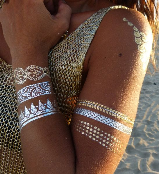 25 Best Ideas About Gold Tattoo On Pinterest Flash Tats Ideas And Designs