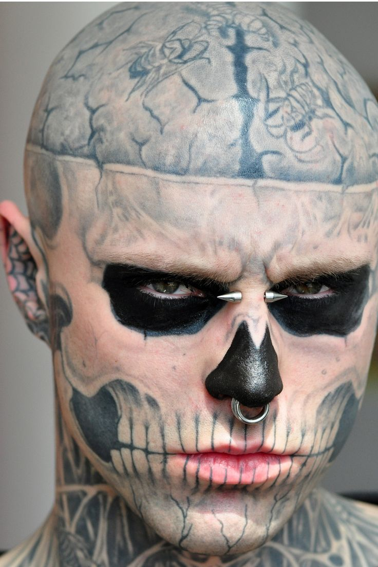 11 Best Images About Zombie Boy On Pinterest Rick Genest Ideas And Designs