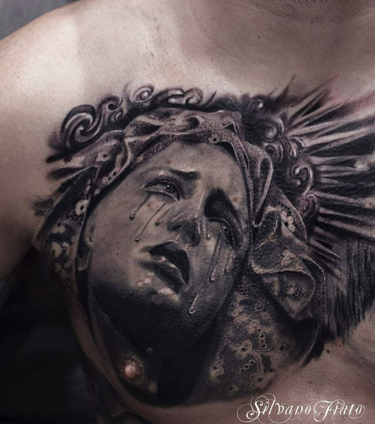 Angel Statue Tattoos Pinterest V*Rg*N Mary Raven Ideas And Designs
