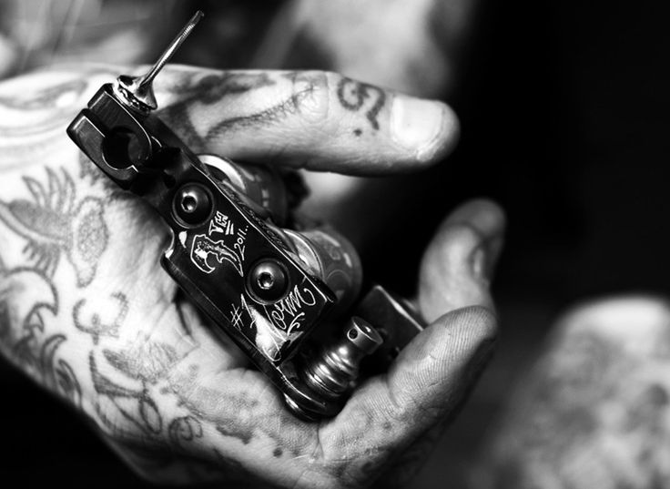 Custom Tattoo Machines By Norm At Will Rise Studio In La Ideas And Designs