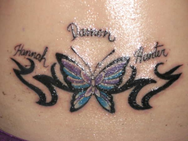25 Best Ideas About Butterfly Tattoos With Names On Ideas And Designs