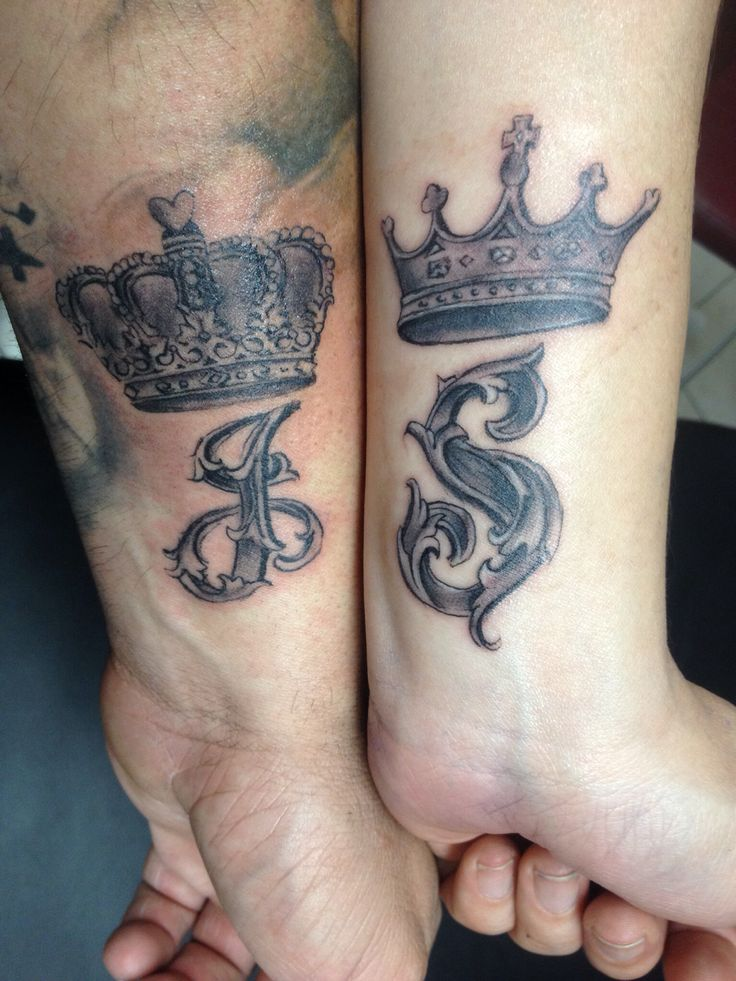 Crown Couples Tattoos Tattoo Pinterest Couple Ideas And Designs