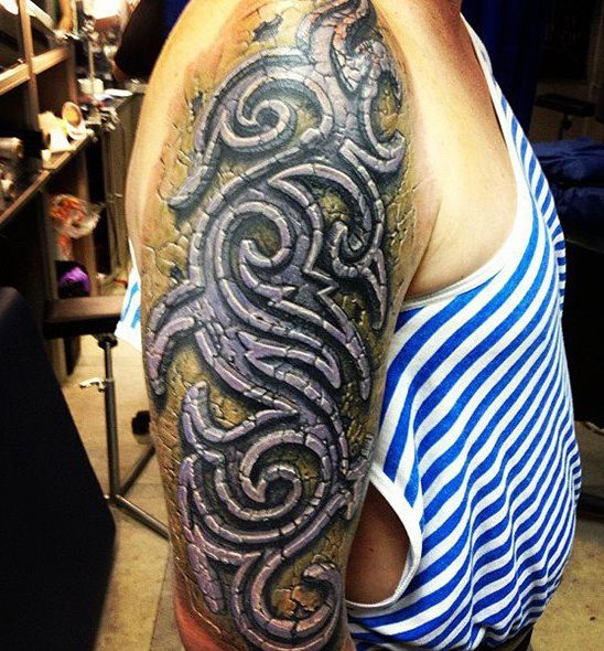 Not Really Into Tribal Designs Generally But This Ideas And Designs