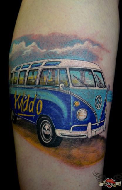 103 Best Images About Vw Bus Camping Tattoos On Pinterest Ideas And Designs