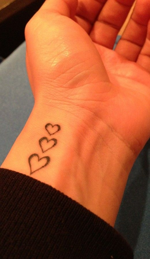 17 Best Ideas About 3 Hearts Tattoo On Pinterest Heart Ideas And Designs