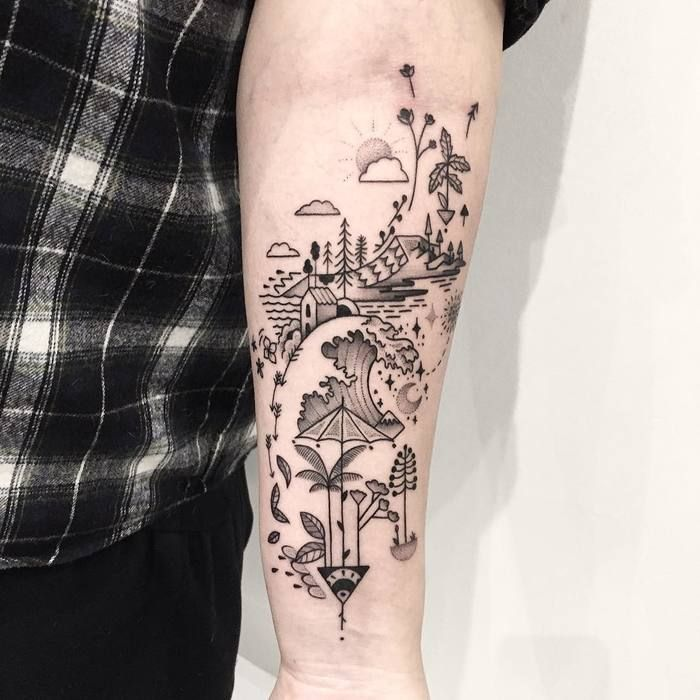 25 Best Ideas About Abstract Tattoos On Pinterest Ideas And Designs