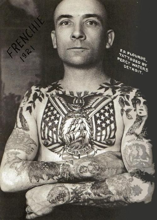 Tattoos Were Not So Popular During The 1920S This Was Ideas And Designs