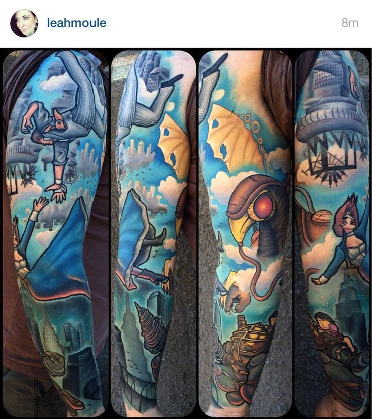 1000 Ideas About Bioshock Tattoo On Pinterest One Piece Ideas And Designs