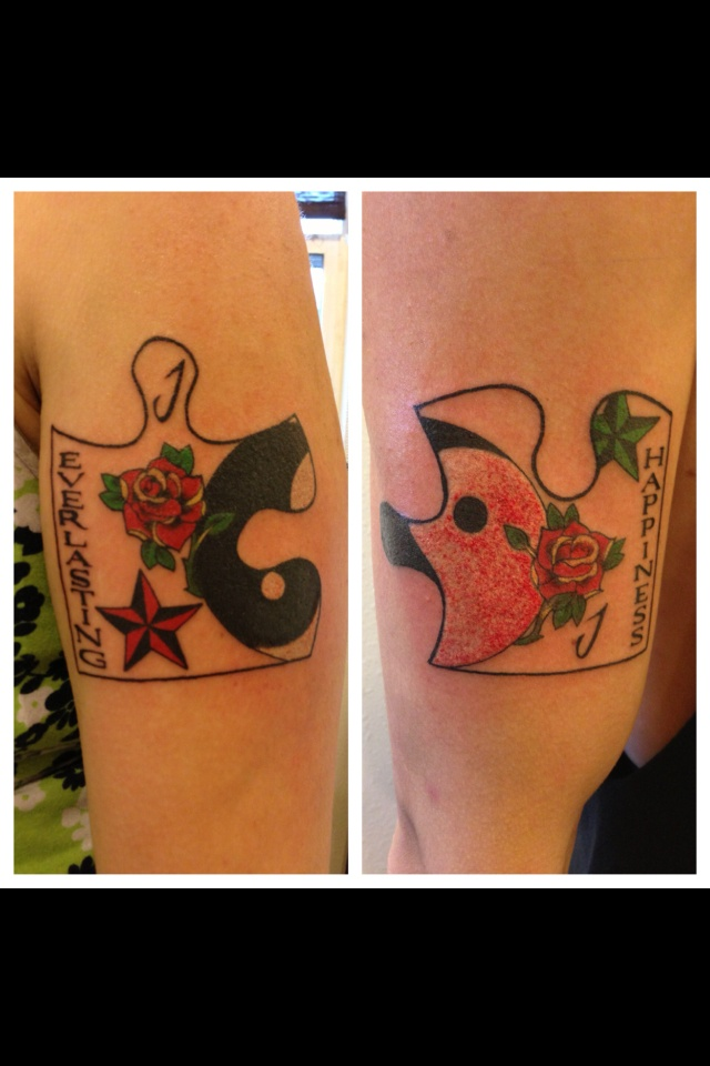25 Best Ideas About Puzzle Piece Tattoos On Pinterest Ideas And Designs