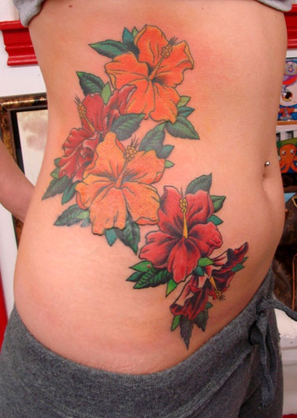 Image Detail For Hibiscus Flower Tattoo Designs Free Ideas And Designs
