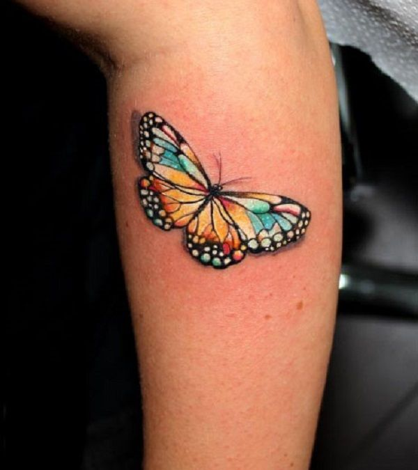 17 Best Ideas About 3D Butterfly Tattoo On Pinterest 3D Ideas And Designs