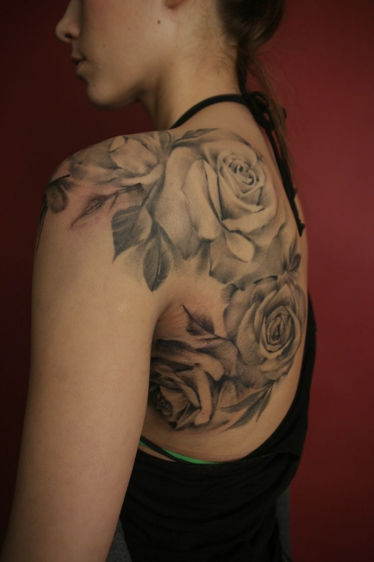 17 Best Ideas About Rose Shoulder Tattoos On Pinterest Ideas And Designs