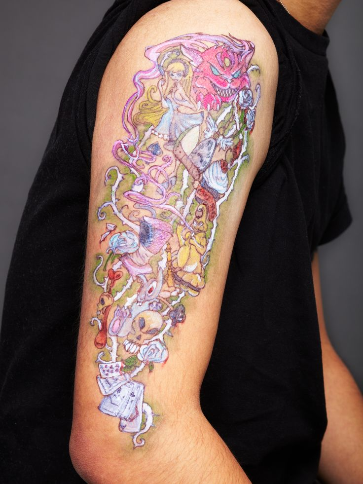 Top 25 Ideas About Alice And Wonderland Tattoos On Ideas And Designs