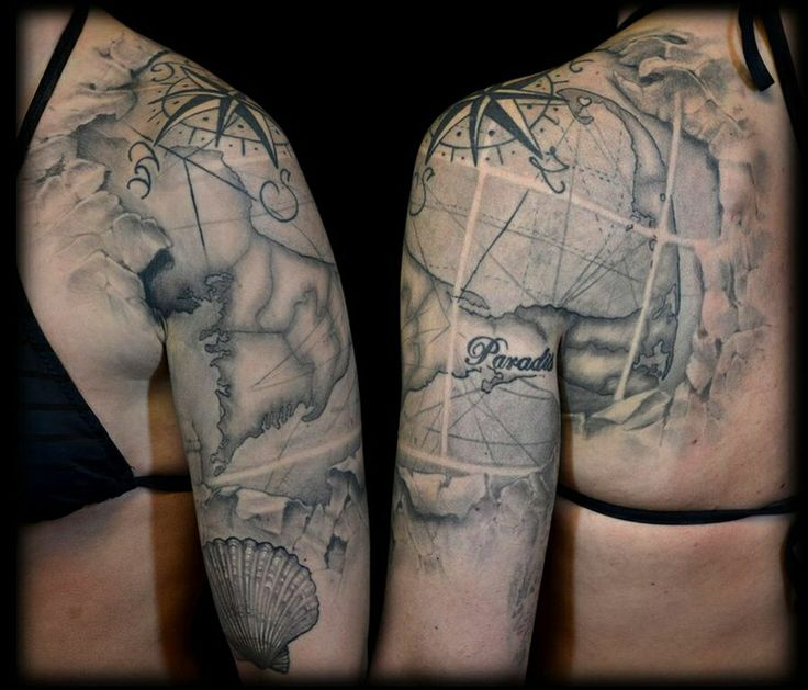 1000 Ideas About Nautical Tattoo Sleeve On Pinterest Ideas And Designs