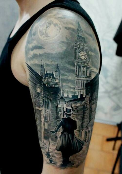 Amazing Steampunk Victorian Style Tattoo I Would Love Ideas And Designs