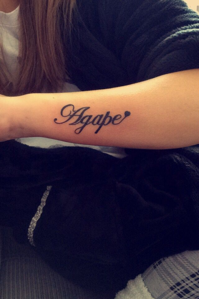 1000 Ideas About Agape Tattoo On Pinterest Christian Ideas And Designs