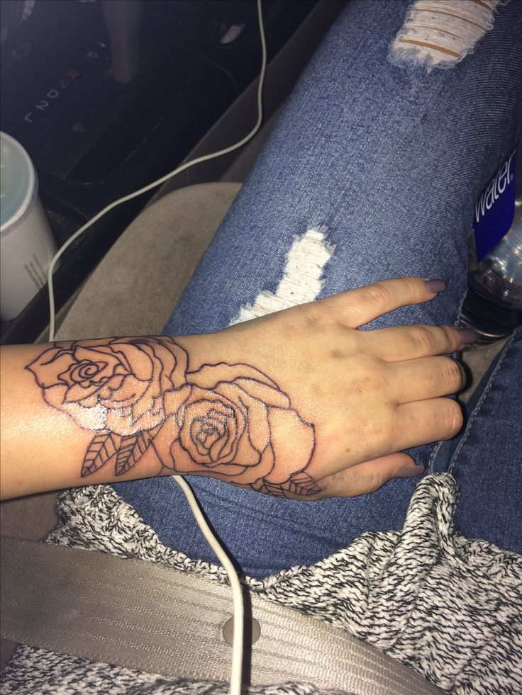 1000 Ideas About Rose Outline On Pinterest Rose Tattoos Ideas And Designs