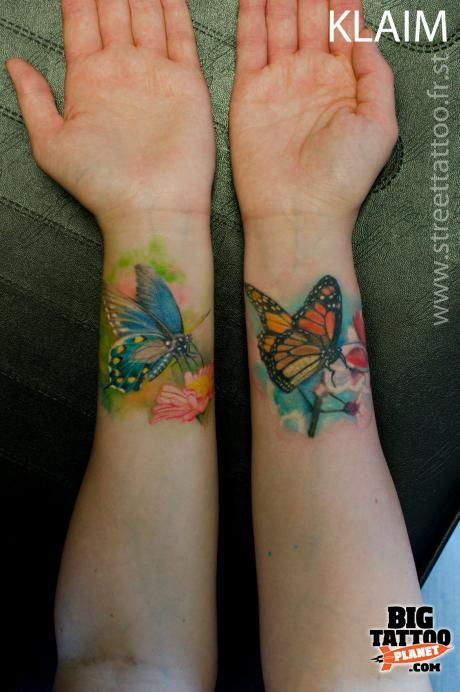 25 Best Ideas About Butterfly Wrist Tattoo On Pinterest Ideas And Designs