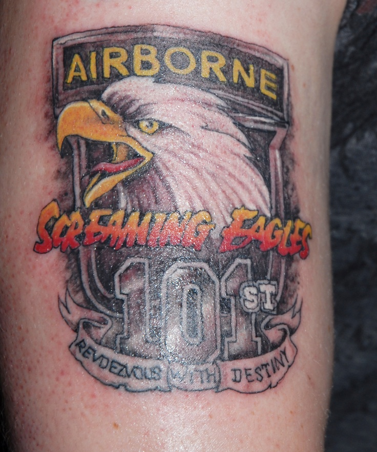 Screaming Eagles Tattoos By Joe Byron Pinterest Ideas And Designs