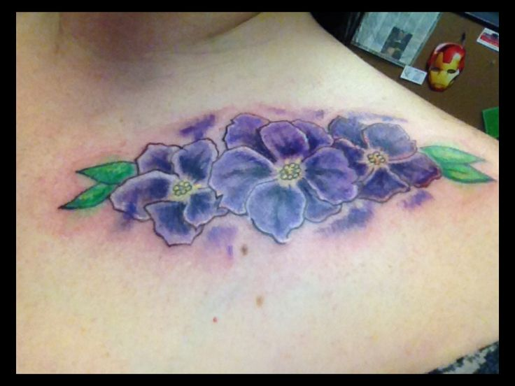 My African Violets Tattoo Tattoos Pinterest Violet Ideas And Designs