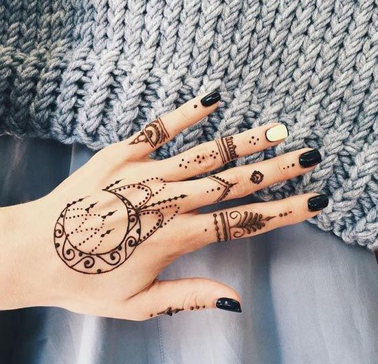 25 Best Ideas About Henna Hand Tattoos On Pinterest Ideas And Designs