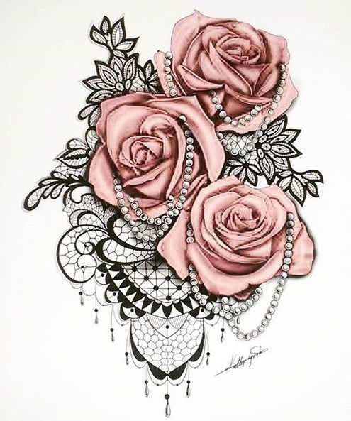 Nice Tiny Tattoo Idea Inked Roses And Pearls Check Ideas And Designs