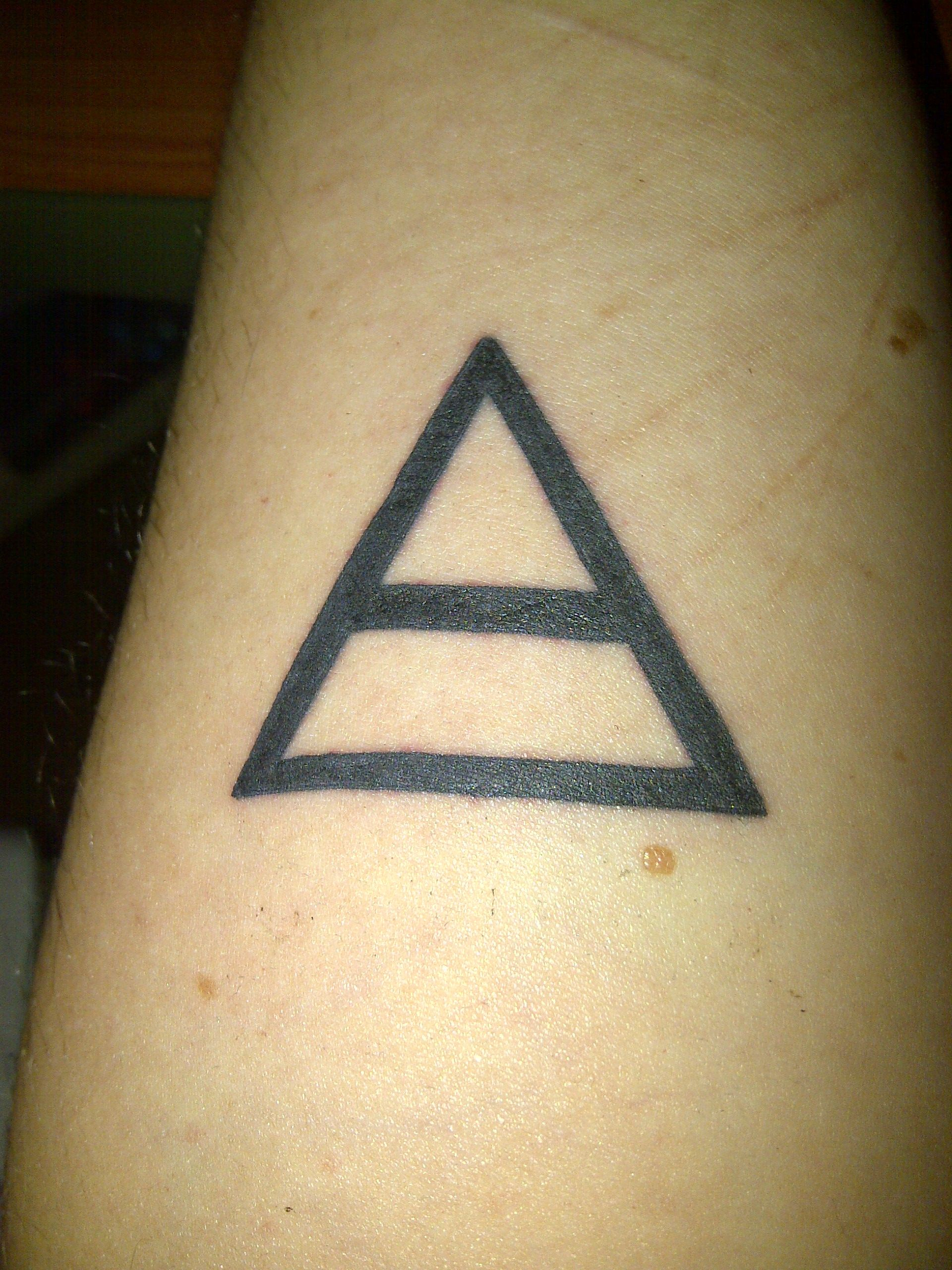 30 Seconds To Mars Triad Tattoo Body Altering Ideas And Designs