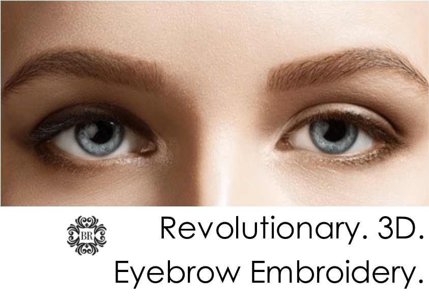 3D Eyebrow Tattoo Eyebrow Embroidery A Revolutionary New Ideas And Designs