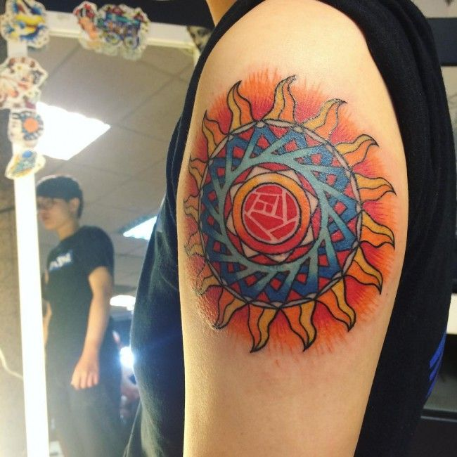 100 Most Impressive Sun Tattoo Designs And Meanings Cool Ideas And Designs