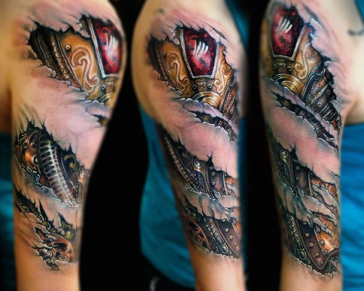Biometric Metal Tattoos Tattoos Pinterest Metal Ideas And Designs