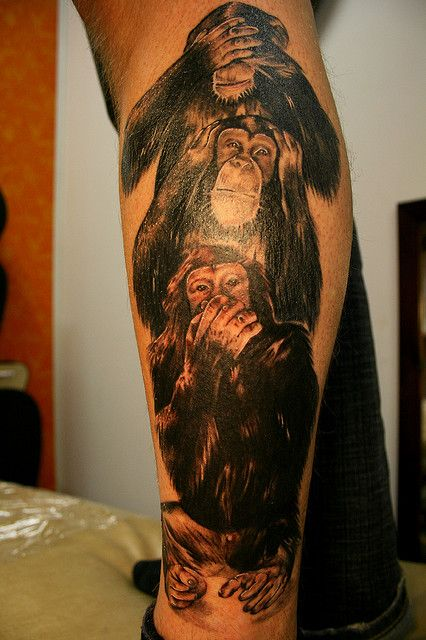 Three Wise Monkeys Tattoos Pinterest Three Wise Ideas And Designs