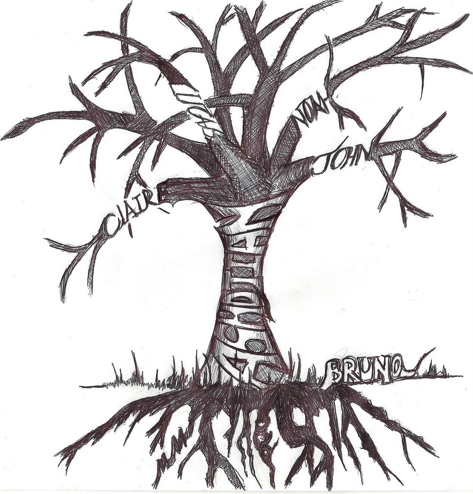 Ash Tree Tattoos Add Leaves As The Days Go By For Me Ideas And Designs