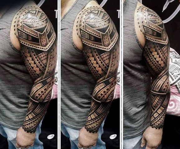 Incredible 3D Maori Male Tattoo Full Sleeve Tri Me Tattoos Pinterest Male Tattoo Maori And 3D Ideas And Designs
