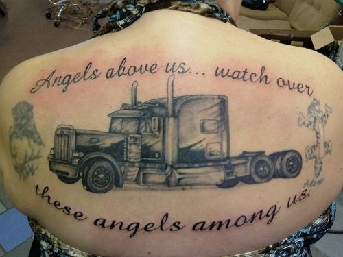 Truck Tattoo On Pinterest Racing Tattoos New Zealand Ideas And Designs