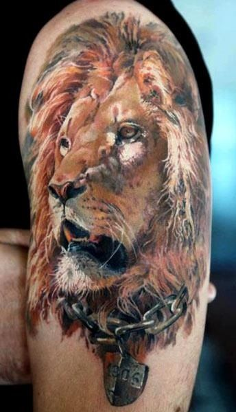 Lion Arm 3D Tattoos Egodesigns For Him Personal Ideas And Designs