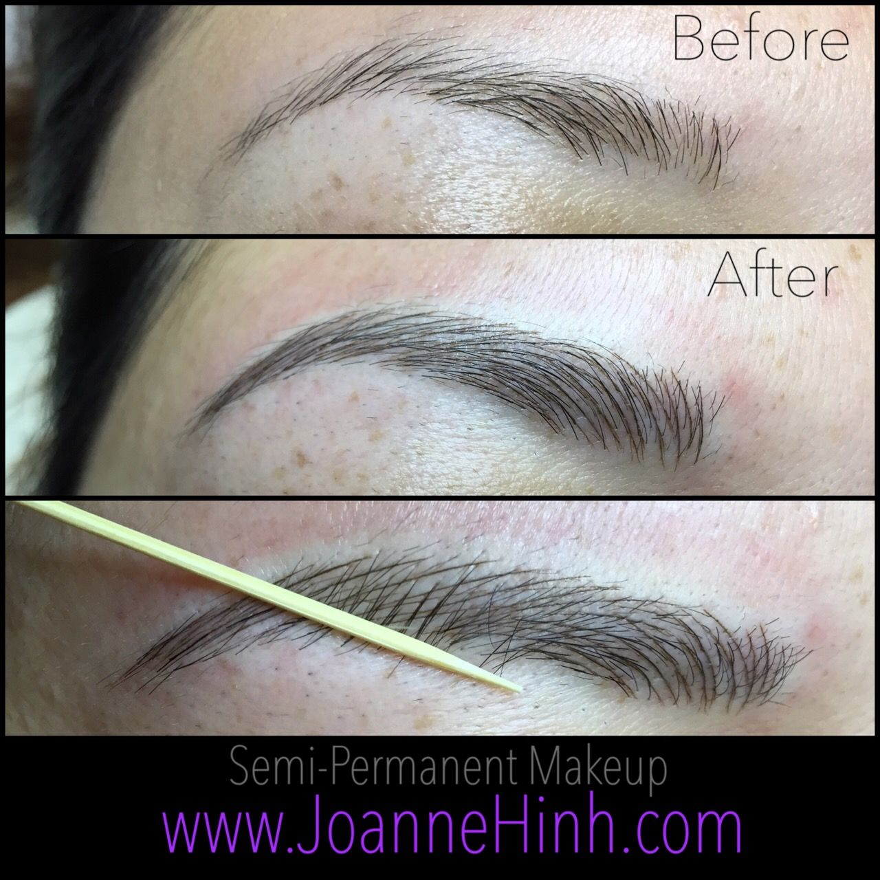 Hairstroke Eyebrow Embroidery By Joanne Hinh Brow Ideas And Designs