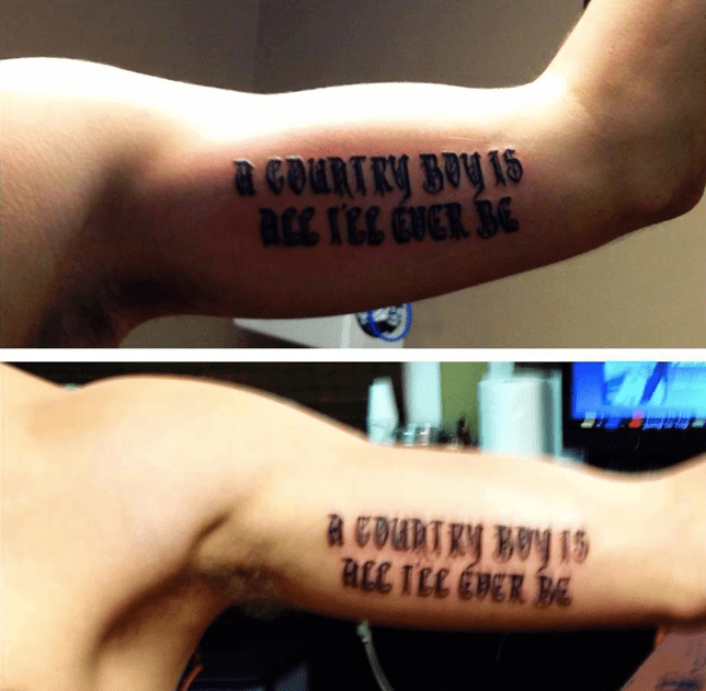Aaron Lewis Fan Zack Fluty And His Buddy Just Got Inked Ideas And Designs